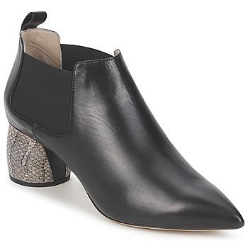 Čevlji  Ženske Nizki škornji Marc Jacobs EQUATORE Črna