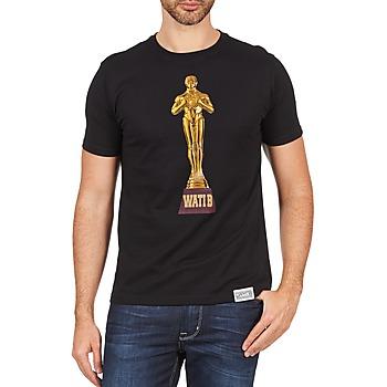 Oblačila Moški Majice s kratkimi rokavi Wati B TSOSCAR Črna