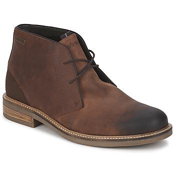 Čevlji  Moški Nizki čevlji Barbour READHEAD Kostanjeva