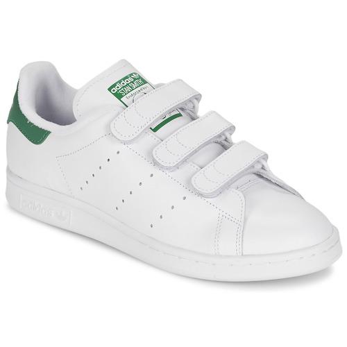 Čevlji  Nizke superge adidas Originals STAN SMITH CF Bela / Zelena