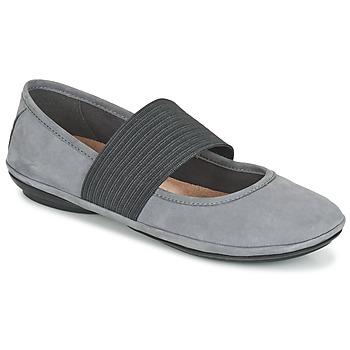 Čevlji  Ženske Balerinke Camper RIGHT NINA Siva
