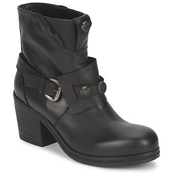 Čevlji  Ženske Gležnjarji Strategia MAUTAU Črna