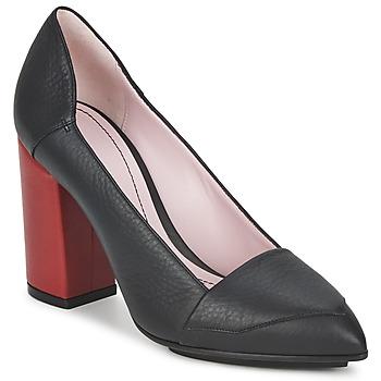 Čevlji  Ženske Salonarji Sonia Rykiel 657942 Črna / Rdeča