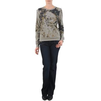 Oblačila Ženske Kavbojke bootcut Freeman T.Porter DEBBY STRETCH DENIM Modra