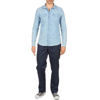 Oblačila Moški Hlače s 5 žepi Dickies WORK PANT Modra