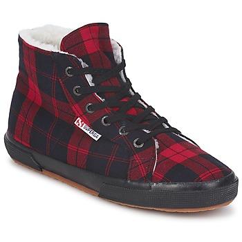Čevlji  Visoke superge Superga 2095 Rdeča / Črna