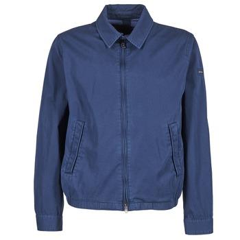 Oblačila Moški Jakne Hackett CLASSIC BLOUSON Modra