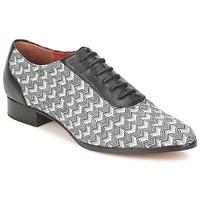 Čevlji  Ženske Čevlji Richelieu Missoni WM076 Črna / Siva