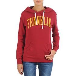 Oblačila Ženske Puloverji Franklin & Marshall TOWNSEND Rdeča