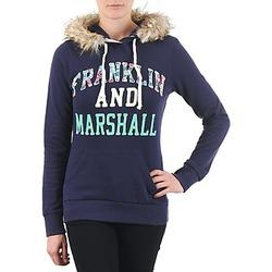 Oblačila Ženske Puloverji Franklin & Marshall COWICHAN Modra