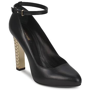 Čevlji  Ženske Salonarji Roberto Cavalli WDS230 Črna