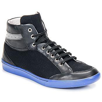 Čevlji  Moški Visoke superge Swear GENE 3 Črna / Modrá