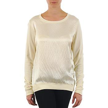 Oblačila Ženske Majice z dolgimi rokavi Majestic 237 Kremno bela