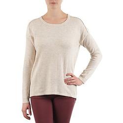 Oblačila Ženske Puloverji Color Block 3265194 Bež