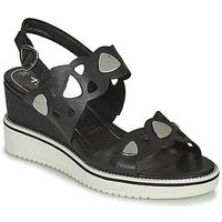 Čevlji  Ženske Sandali & Odprti čevlji Tamaris MAGDA Črna