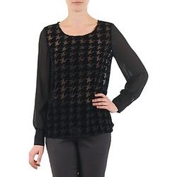Oblačila Ženske Topi & Bluze La City ML FLOCK P Czarny