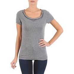 Oblačila Ženske Majice s kratkimi rokavi La City PULL COL BEB Szary