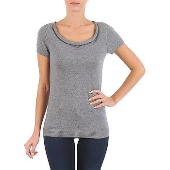 Oblačila Ženske Majice s kratkimi rokavi La City PULL COL BEB Siva