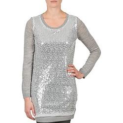 Oblačila Ženske Tunike La City PULL SEQUINS Szary