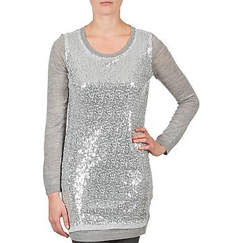 Oblačila Ženske Tunike La City PULL SEQUINS Siva