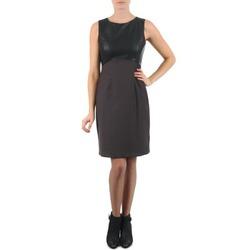 Oblačila Ženske Kratke obleke La City RTANIA Czarny / Szary