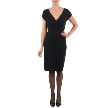 Oblačila Ženske Kratke obleke La City ROBE3D1B Črna