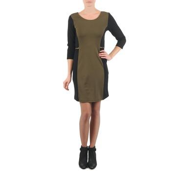 Oblačila Ženske Kratke obleke La City ROKAMIL Kaki / Črna