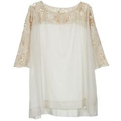Oblačila Ženske Topi & Bluze Stella Forest ATU030 Bež