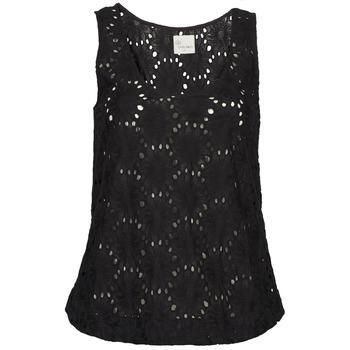 Oblačila Ženske Majice brez rokavov Stella Forest ADE007 Črna