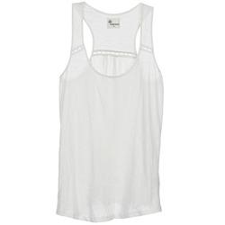 Oblačila Ženske Majice brez rokavov Stella Forest ADE005 Bela