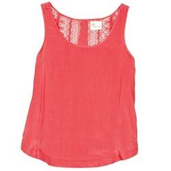 Oblačila Ženske Majice brez rokavov Stella Forest ADE009 Rožnata