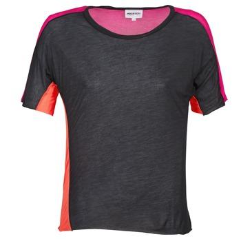 Oblačila Ženske Majice s kratkimi rokavi American Retro CAROLE Črna / Rožnata