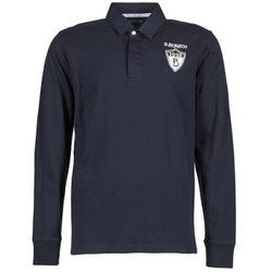 Oblačila Moški Polo majice dolgi rokavi Serge Blanco RUGBY LEAGUE Modra