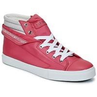 Čevlji  Ženske Visoke superge Bikkembergs PLUS 647 Pink / Siva
