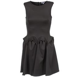 Oblačila Ženske Kratke obleke Brigitte Bardot BB44204 Črna