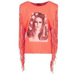 Oblačila Ženske Majice brez rokavov Brigitte Bardot BB44075 Koralna
