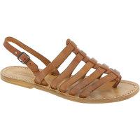 Čevlji  Ženske Sandali & Odprti čevlji Gianluca - L'artigiano Del Cuoio 576 D CUOIO CUOIO Cuoio