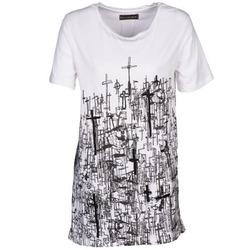Oblačila Ženske Majice s kratkimi rokavi Religion B123CND13 Bela