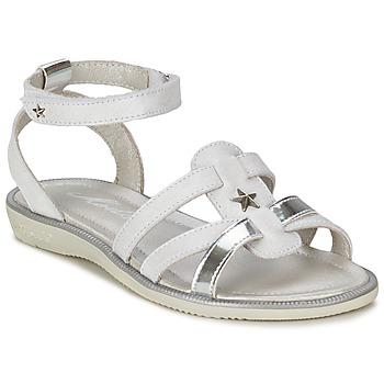 Čevlji  Deklice Sandali & Odprti čevlji Mod'8 HOPAL Bela