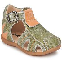 Čevlji  Dečki Sandali & Odprti čevlji Mod'8 ALUCINE Zelena / Oranžna