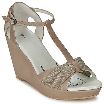 Čevlji  Ženske Sandali & Odprti čevlji One Step CEANE Taupe / Pozlačena / Taupe