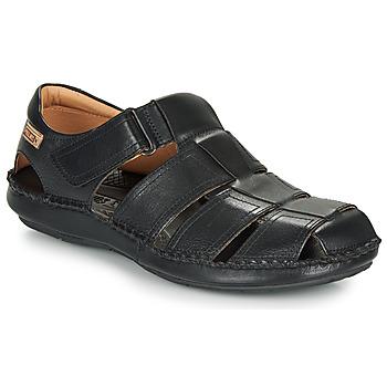 Čevlji  Moški Sandali & Odprti čevlji Pikolinos TARIFA 06J Črna