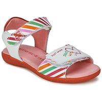 Čevlji  Deklice Sandali & Odprti čevlji Agatha Ruiz de la Prada CAZOLETA Bela / Večbarvna