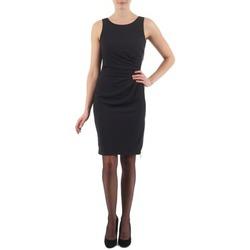 Oblačila Ženske Kratke obleke Esprit BEVERLY CREPE Črna