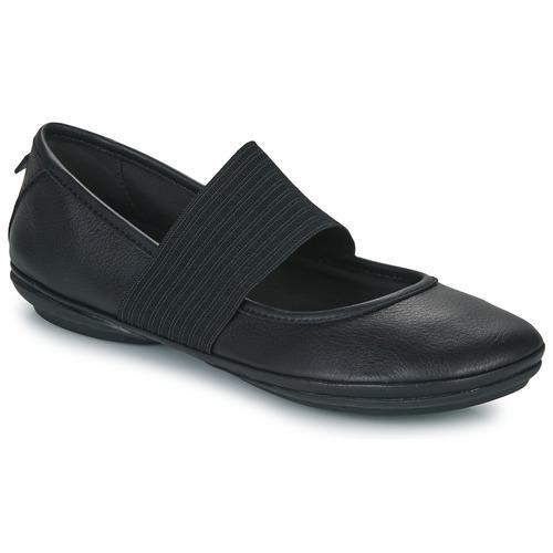 Čevlji  Ženske Balerinke Camper RIGHT NINA Črna