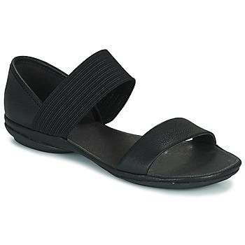 Čevlji  Ženske Sandali & Odprti čevlji Camper RIGHT NINA Črna