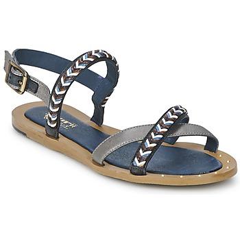 Čevlji  Ženske Sandali & Odprti čevlji Schmoove MEMORY LINK Srebrna