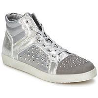 Čevlji  Ženske Visoke superge Hip 90CR Silver-croco
