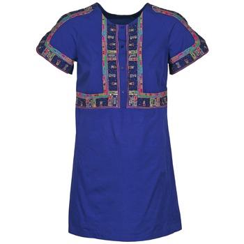 Oblačila Ženske Kratke obleke Antik Batik EMILIE Modra