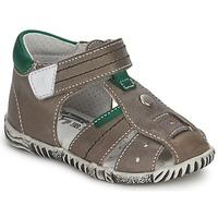 Čevlji  Dečki Sandali & Odprti čevlji Primigi QUINCY Siva / Zelena